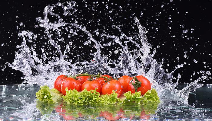 Daržovių, vaisių plovimo priemonė